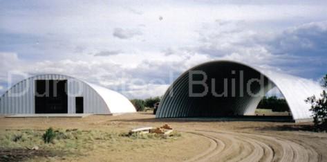 Durospan Steel 30x35x14 Metal Building Custom Open Ends