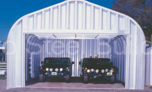 Duro span steel 20x24x12 metal building kits direct for Residential garage kits